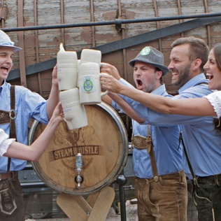 Win tickets to Steam Whistle's annual Oktoberfest Party