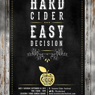 Win tickets to the Toronto Cider Festival