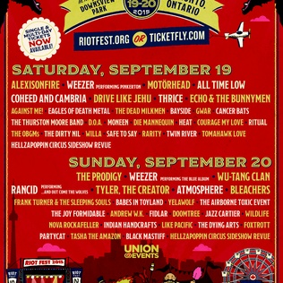 Win tickets to Riot Fest