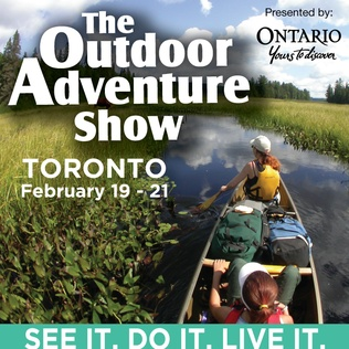 Win tickets to the Outdoor Adventure Show and a Super Deluxe Canoe Trip for 2