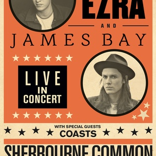 Win tickets to see George Ezra and James Bay live