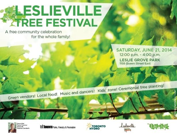 Leslieville Tree Festival