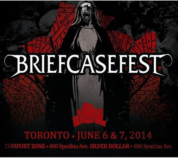 BRIEFCASEFEST 2014 Day One w/ Demonic Possessor, Ayahuasca, Drofnosura, Ism, etc.