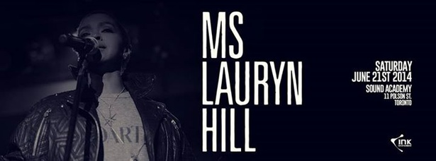 Ms. Lauryn Hill @ Sound Academy on June 21st