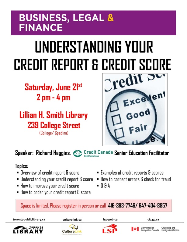 Understanding Your Credit Report & Credit Score