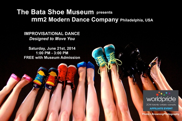 MM2 Modern Dance of Philadelphia - Improvisational Dance Designed to Move You