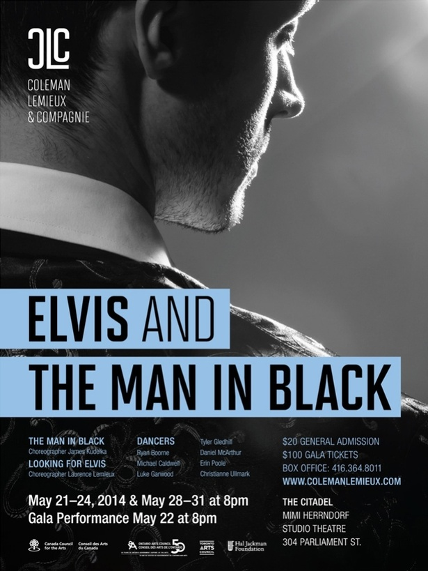 Coleman Lemieux & Compagnie presents Elvis and The Man in Black