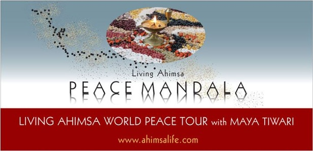 Living Ahimsa World Peace Tour with Maya Tiwari  Canada 2014