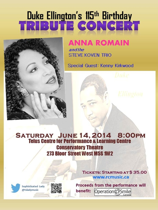 Duke Ellington's 115th Tribute Concert