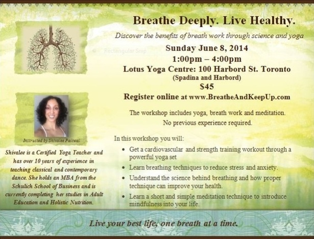 Breathe Deeply. Live Healthy.