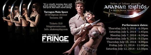 Arabian Nights : Toronto Fringe Festival