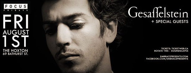 FOCUS FRIDAY  Gesaffelstein DJ Set @ The Hoxton  August 1