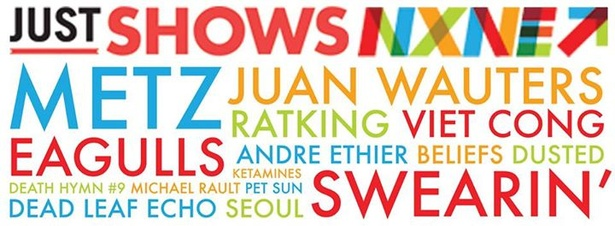 JUST SHOWS NXNE ALL AGES: SWEARIN' w/ MICHAEL RAULT, BELIEFS & MORE - SAT JUNE 21 @ SMILING BUDDHA