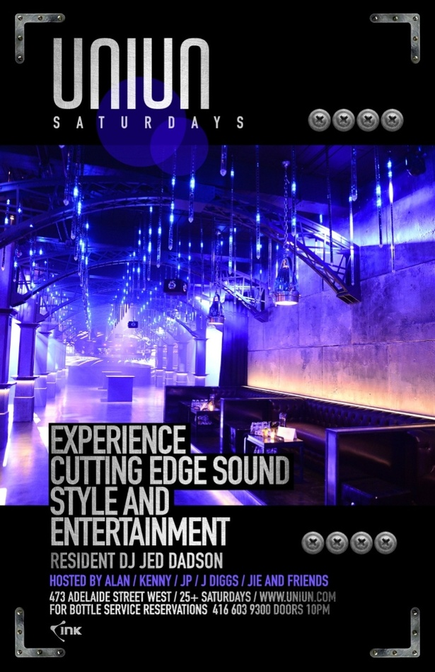 CUTTING EDGE STYLE, SOUND AND ENTERTAINMENT AT UNIUN NIGHTCLUB