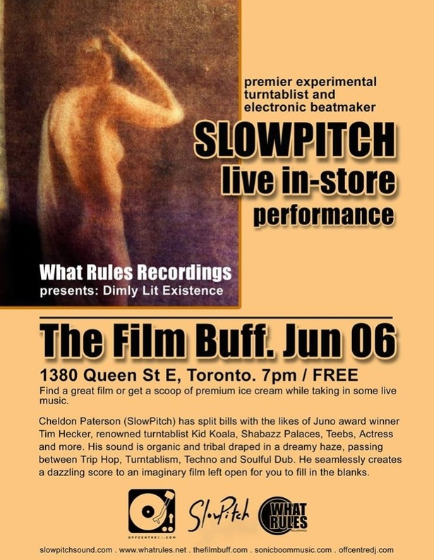 SlowPitch Live at The Film Buff East