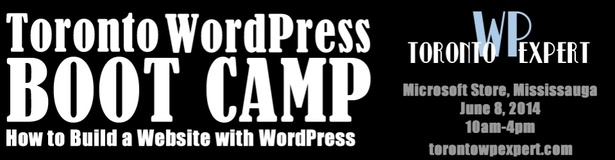 Toronto WordPress Boot Camp