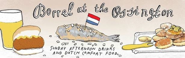 Borrel at the Ossington: Sunday afternoon drinks and Dutch comfort food
