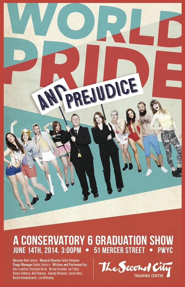 World Pride and Prejudice - A Conservatory 6 Graduation Show
