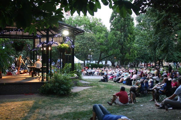 Music in St. James Park: Bertie & the Gents and Free Swing Dance Class
