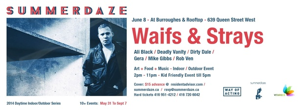 SUMMERDAZE PRESENTS - WAIFS & STRAYS - FOOD, MUSIC & ARTS EVENT
