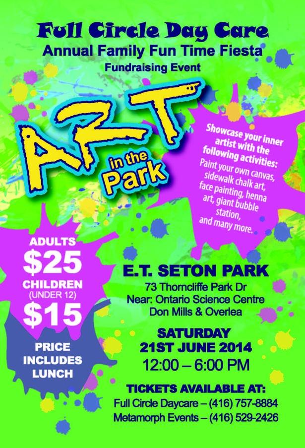 Art in the Park - Fundraising Fiesta