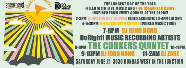 The Cookers Quintet play SUMMER SOLSTICE in the JUNCTION @3030