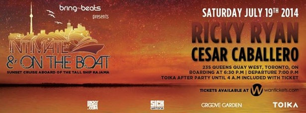 INTIMATE & ON THE BOAT v2 w/ Ricky Ryan & Cesar Caballero