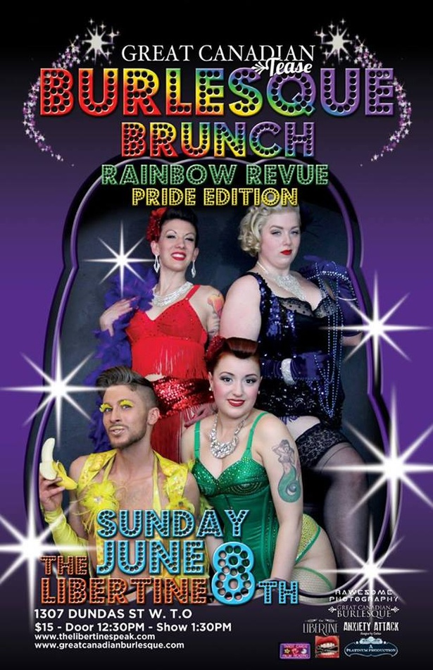 Great Canadian Tease Burlesque Brunch