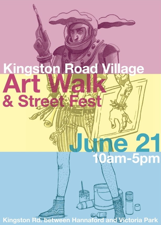 Kingston Road Village Art Walk & Street Fest