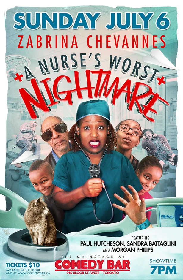 ZABRINA CHEVANNES PRESENTS A NURSES WORST NIGHTMARE