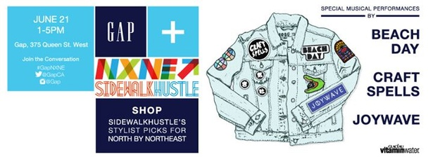 Gap, NXNE, & Sidewalk Hustle presents Craft Spells, Joywave, & Beach Day #GapNXNE