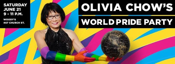 Olivia Chow's World Pride Party