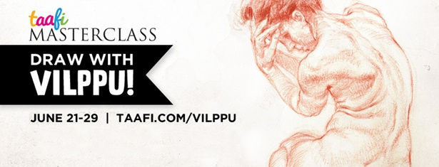 Draw With Vilppu! Masterclasses/Lectures after TAAFI 2014