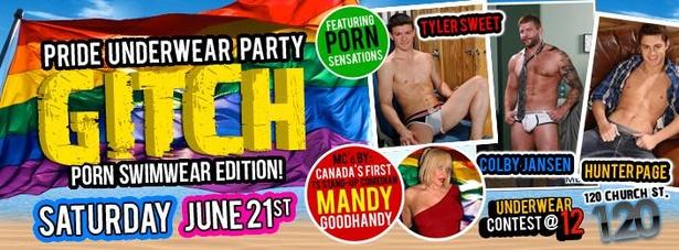 World Pride 2014 underwear party!
