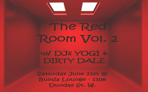 THE RED ROOM Vol. 2 w/ DJs YOGI & DIRTY DALE Sat June 21st FREE Admission
