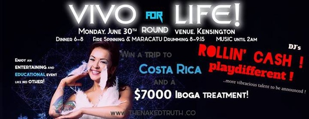 VIVO for LIFE Fundraiser Party !