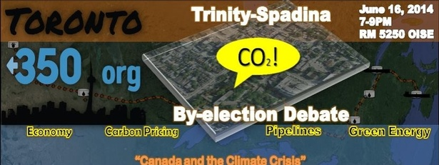 "Trinity-Spadina Candidates Debate - ""Canada and the Climate Crisis"