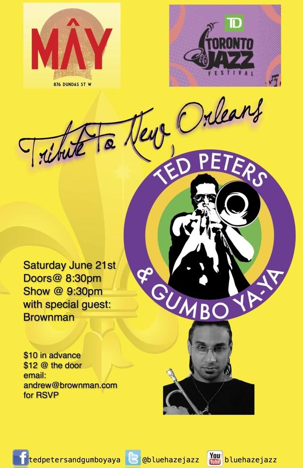 Tribute to New Orleans-Ted Peters & Gumbo Ya Ya