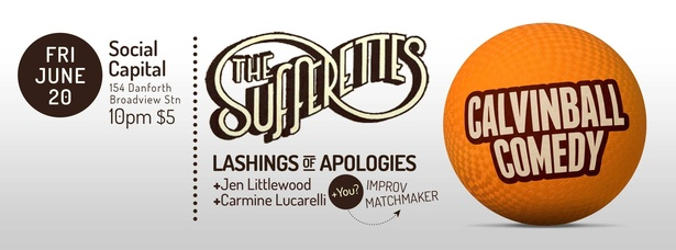 Calvinball Comedy w/ The Sufferettes & Lashings of Apologies