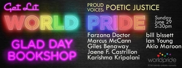 POETIC JUSTICE - A Proud Voices Reading