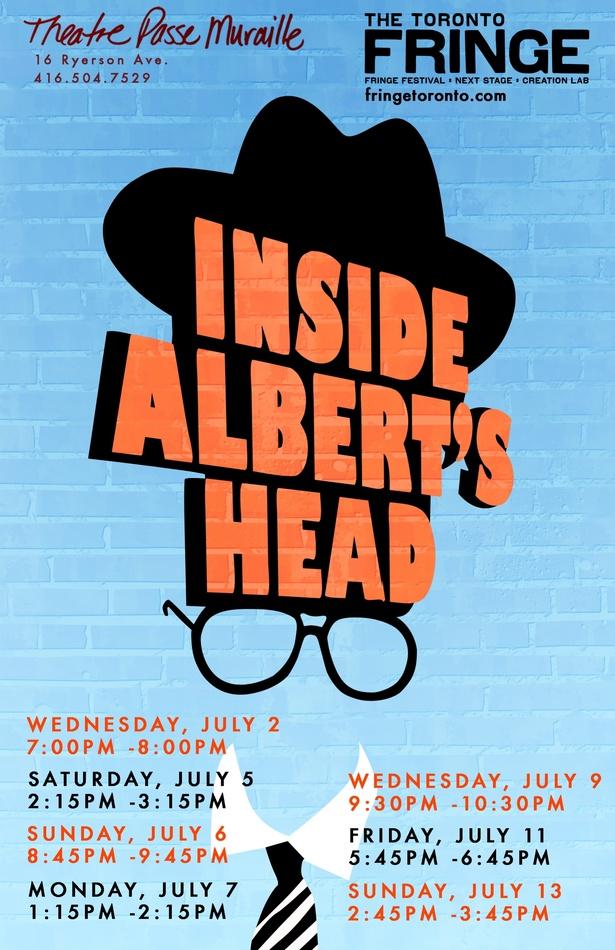 Inside Albert's Head- Fringe Show