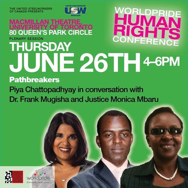 Pathbreakers: Piya Chattopadhyay in conversation with Dr. Frank Mugisha and Justice Monica Mbaru