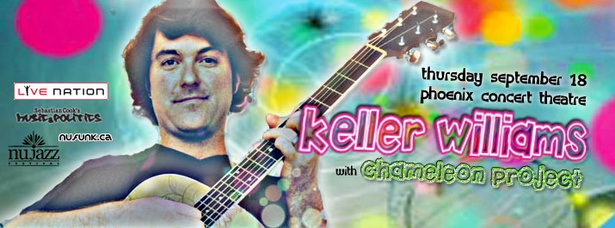 KELLER WILLIAMS  Chameleon Project ;: Thurs Sept 18 :: Phoenix Concert Theatre