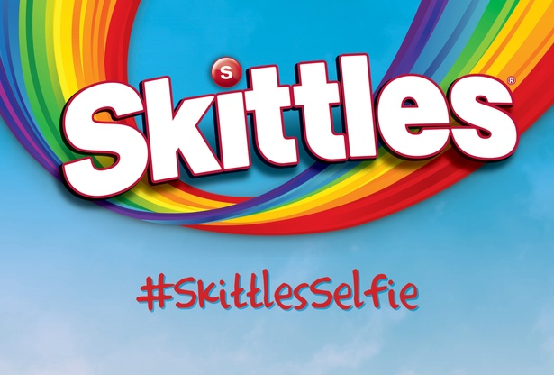 Canada Day Skittles Selfie