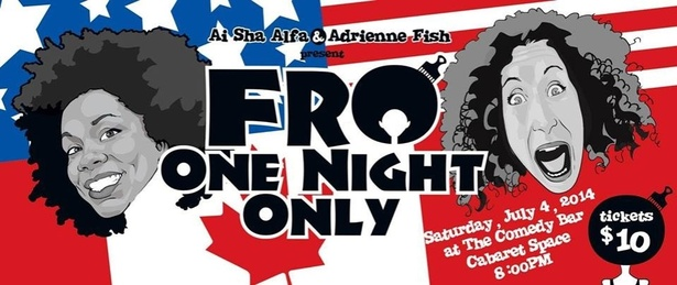 Comedy Show-FRO ONE NIGHT ONLY: Canadians vs. Americans