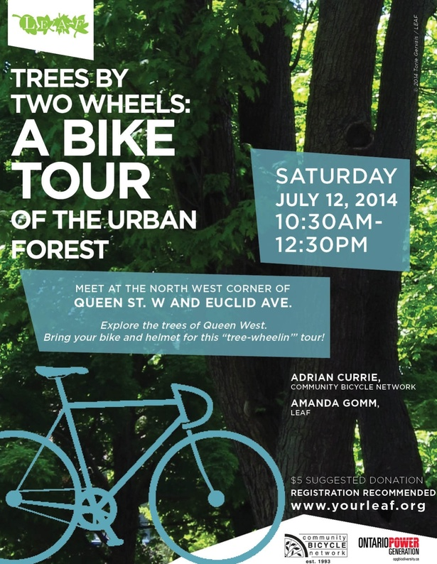 Trees By Two Wheels: A Biking Tour of the Urban Forest