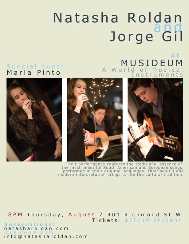 Natasha Roldan & Jorge Gil at MUSIDEUM