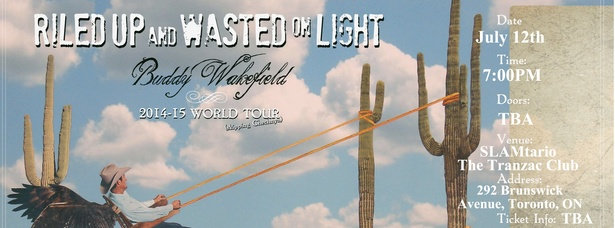 Buddy Wakefield's World Tour