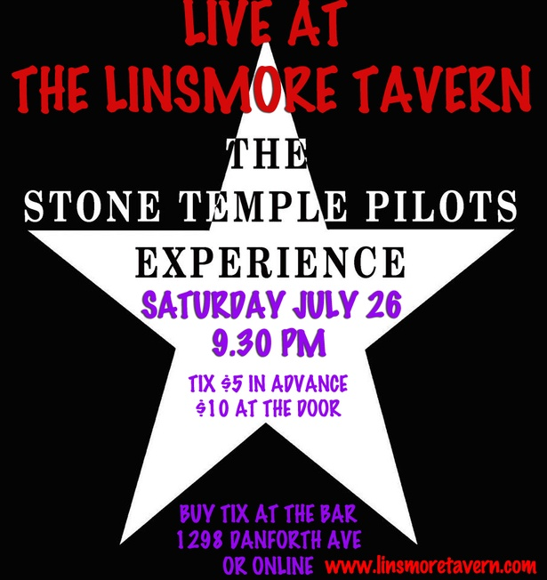 STPX: Stone Temple Pilot Experience Live at the Linsmore Tavern!!