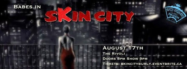 Babes in...Skin City - Comic Burlesque